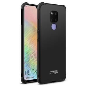 IMAK All-inclusive Shockproof Airbag TPU Case for Huawei Mate 20 X, with Screen Protector (Black)