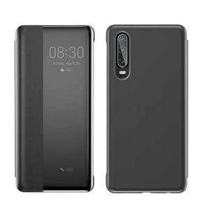 Baseus Intelligent Horizontal Flip Protective Case for Huawei P30, with Smart View Window & Sleep Wake-up Function (Black)