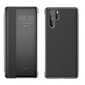 Baseus Intelligent Horizontal Flip Protective Case for Huawei P30 Pro, with Smart View Window & Sleep Wake-up Function (Black)