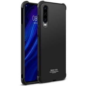 IMAK All-inclusive Shockproof Airbag TPU Case for Huawei P30, with Screen Protector (Black)