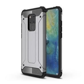 Magic Armor TPU + PC combinatie geval voor Huawei mate 20 X (grijs)