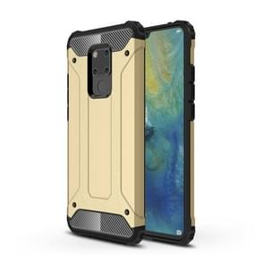 Magic Armor TPU + PC Combination Case for Huawei Mate 20 X (Gold)
