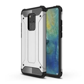 Magic Armor TPU + PC Combination Case for Huawei Mate 20 X (Silver)