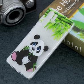 Panda Pattern Transparent TPU Protective Case for Huawei P30 Pro