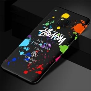 Luminous Doodling Pattern TPU Protective Case for Huawei Mate 20 Pro