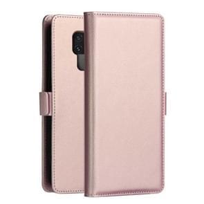 DZGOGO MILO serie PC + PU horizontale Flip lederen draagtas voor Huawei mate 20 X  met houder & kaartsleuf & portemonnee (Rose goud)