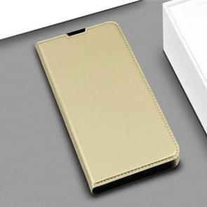 DZGOGO ISKIN Series Slight Frosted PU+ TPU Case for Huawei Mate 20 X (Gold)