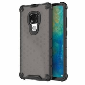 Honeycomb Shockproof PC + TPU Case for Huawei Mate 20(Black)