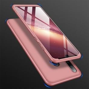 GKK drie fase splicing volledige dekking PC Case voor Huawei Nova 4e/P30 Lite (Rose goud)