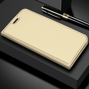 DZGOGO ISKIN Series Slight Frosted PU+ TPU Case for Huawei Mate 20 Lite (Gold)