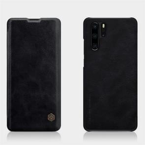 NILLKIN Crazy Horse Texture Horizontal Flip Leather Case for Huawei P30 Pro, with Card Slot (Black)