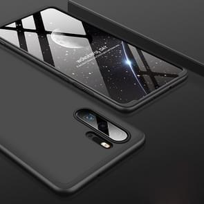 GKK drie stage splicing volledige dekking PC Case voor Huawei P30 Pro (zwart)