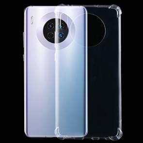 For Huawei Mate 30 Pro Four-Corner Shockproof Ultra-Thin Transparent TPU Case