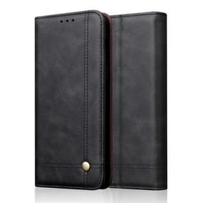 Casual Style Retro Crazy Horse Texture Horizontal Flip Leather Case for Huawei P30 Lite / Nova 4e, with Card Slots & Holder & Wallet (Black)
