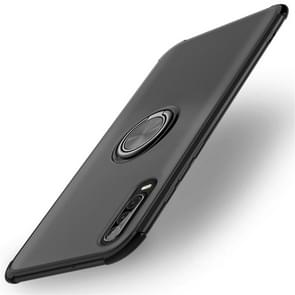 Shockproof TPU Protective Case for Huawei P30, with Holder (Black)