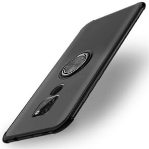 Shockproof TPU Protective Case for Huawei Mate 20, with Holder (Black)