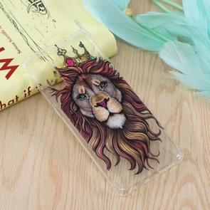 Lion King Pattern Oil Embossed TPU Case for Huawei P30 Pro