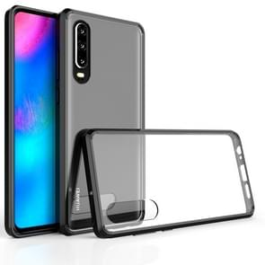 Scratchproof TPU + Acrylic Protective Case for Huawei P30(Black)