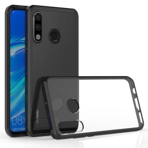 Scratchproof TPU + Acrylic Protective Case for Huawei P30 Lite(Black)
