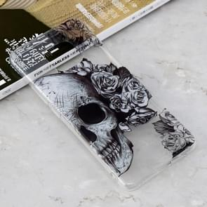 Skull Heads Pattern Transparent Clear TPU Case for Huawei Mate 20 Pro