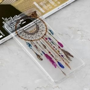 Color Wind Chimes Pattern Transparent Clear TPU Case for Huawei Mate 20 Pro