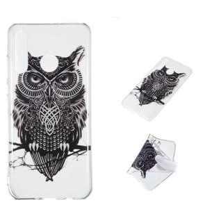 Owl Pattern Highly Transparent TPU Protective Case for Huawei P30 Lite