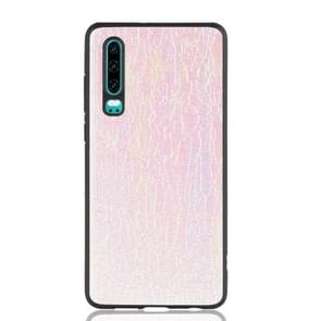 Magic Color PU + TPU Protective Case for Huawei P30(Pink)