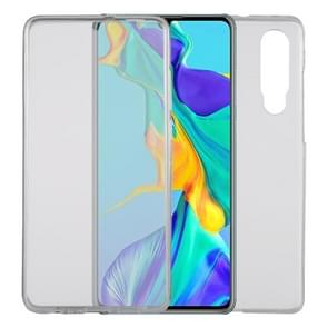 Ultra-thin Double-sided Full Coverage Transparent TPU Protective Case for Huawei P30