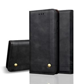 Casual Style Retro Crazy Horse Texture Horizontal Flip Leather Case for Huawei Mate 20 Pro, with Card Slots & Holder & Wallet (Black)