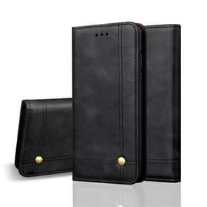 Casual stijl Retro Crazy Horse textuur horizontale Flip leren Case voor Huawei Mate 20 Pro  met kaartsleuven & houder & portemonnee (zwart)