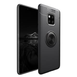 Schokbestendige TPU geval voor Huawei mate 20 Pro  met houder (zwart)