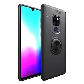 Shockproof TPU Case for Huawei Mate 20 X, with Holder (Black)