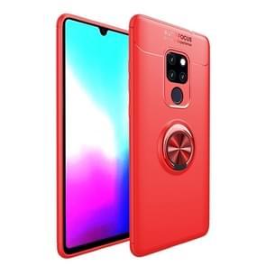Schokbestendige TPU geval voor Huawei mate 20  met houder (rood)