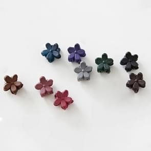50 PCS Cute Children Headwear Mini Bloemen Hairpin Hair Clip Random Kleur Delivery