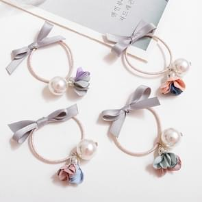 10 PCS Cute Sweet Style Elastic Rubber Hair Band Ring Random Kleur Delivery