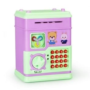 MoFun 16 Keys Fully Automatic Money Coin Bank, Support to Play Song / Story, with Counterfeit Light