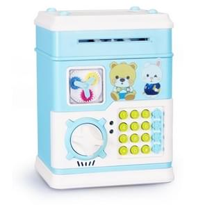 MoFun 12 Keys USB Fully Automatic Money Coin Bank, Support to Play Song / Story, with Counterfeit Light
