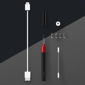 Bebird intelligent HD Visual ear Cleaner Earwax tool, standaardversie (zwart)
