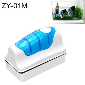 ZY-01M Aquarium Fish Tank Suspended Magnetic Cleaner Brush Cleaning Tools, M, Size: 9.5*7.4*4.5cm