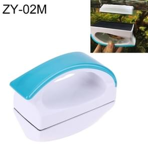 ZY-02M Aquarium Fish Tank Suspended Handle Design Magnetic Cleaner Brush Cleaning Tools, M, Size: 10.5*7.5*5cm