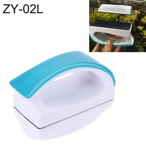 ZY-02L Aquarium Fish Tank Suspended Handle Design Magnetic Cleaner Brush Cleaning Tools, L, Size: 11.5*9*6cm