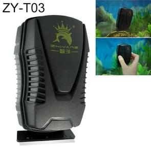 ZY-T Aquarium Fish Tank Suspended Magnetic Scraper Cleaner Brush Cleaning Tools, S, Size: 9.8*5.4*5.5cm