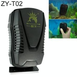 ZY-T Aquarium Fish Tank Suspended Magnetic Scraper Cleaner Brush Cleaning Tools, M, Size: 10.3*5.8*5.7cm