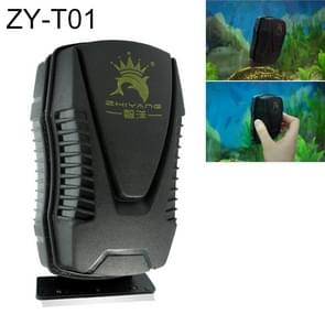 ZY-T Aquarium Fish Tank Suspended Magnetic Scraper Cleaner Brush Cleaning Tools, L, Size: 12.2*6.6*6.6cm