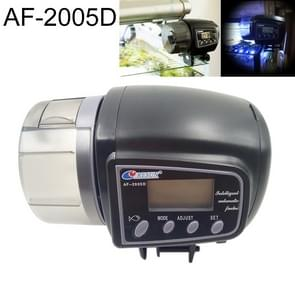 AF-2005D Aquarium Fish Tank Digital LCD Auto Timer Feeders Pet Feeding Dispenser, Capacity: 50-100g