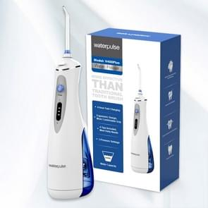 Waterpulse V400Plus Rechargeable Dental Cordless Oral Irrigator with Travel Case, Plug: UK