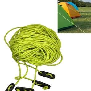 Naturehike NH15A001-G buiten Camping 4 * 4 Tent luifel reflecterende touw lopers Guy lijn koord Paracord  willekeurige kleur levering