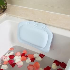 2 stuks badkamer benodigdheden badkuip kussen Bad Bad hoofdsteun zuignap waterdichte Bad kussens  willekeurige kleur levering  grootte: 31 * 21cm