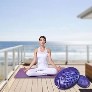 Dikke explosieveilige Yoga speciale Massage evenwicht Cushion(Purple)