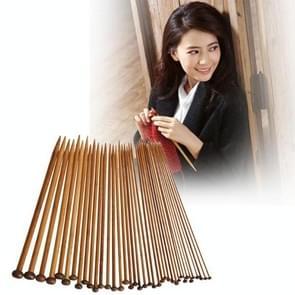 36 in 1 breinaald Carbonize bamboe haak breinaalden  lange stijl